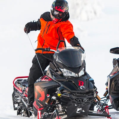 Lynx snowmobile manual starter
