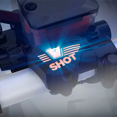 SHOT starter button